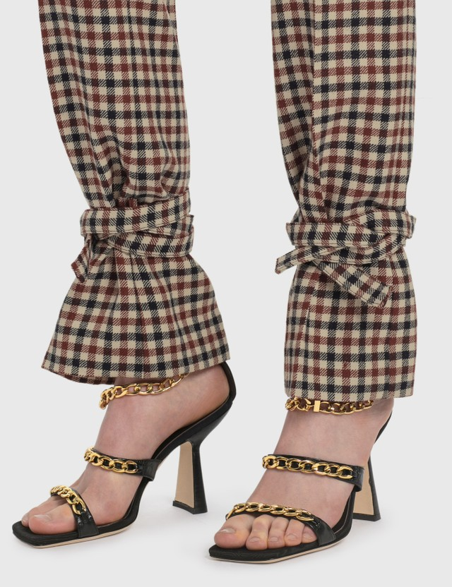 JW Anderson Tie Hem Slim Fit Trousers