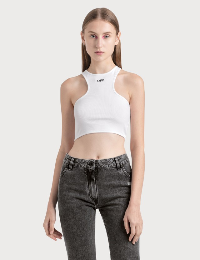 Off-White Rowing Tank Top
