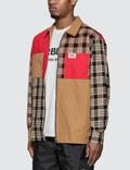 Burberry Color Block Shirt