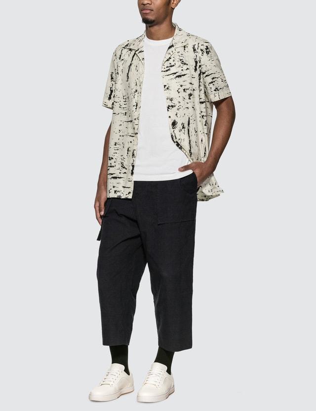 Bottega Veneta Graphic Shirt White Men