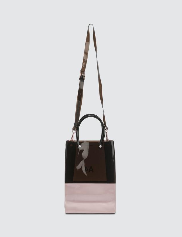 Nana-nana PVC x Opaque A4 Bag