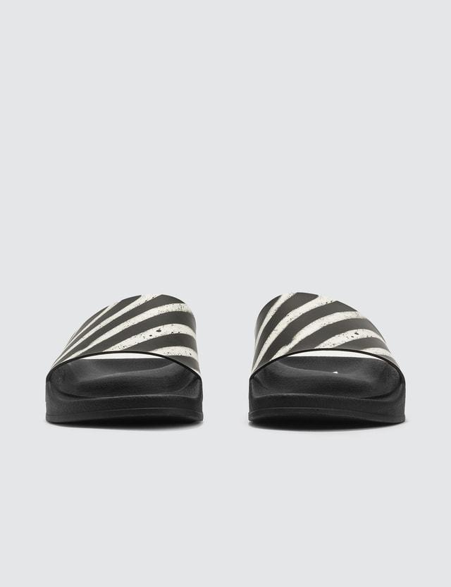 Off-White Spray Stripes Sliders