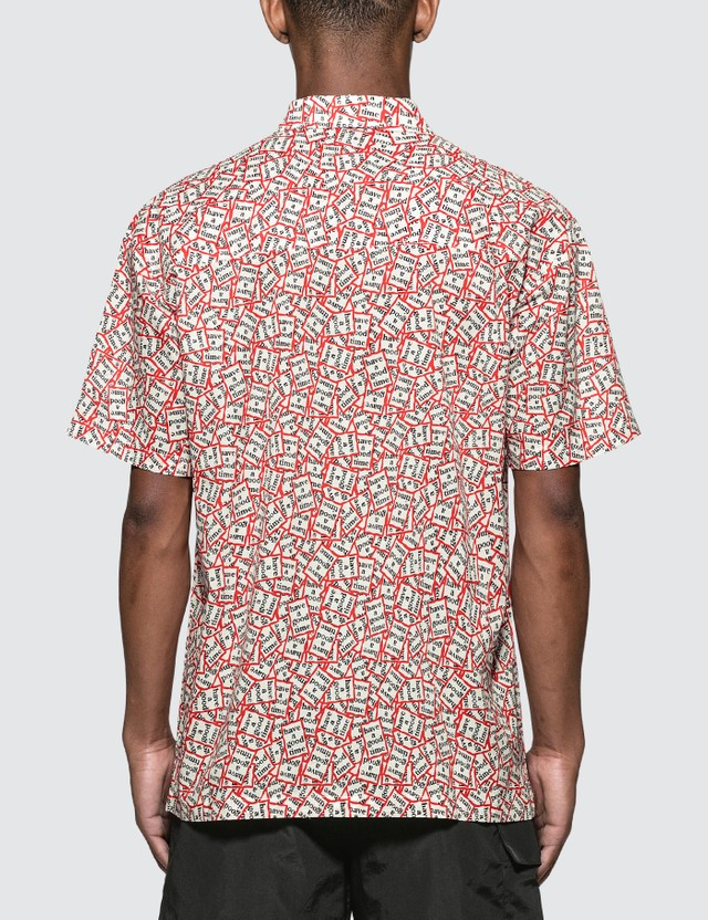 Have A Good Time All Frame Pattern Aloha S/S Shirt