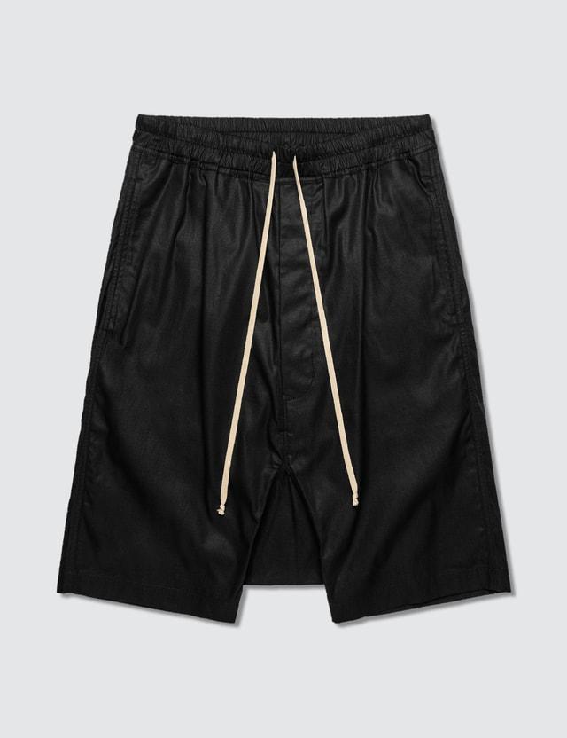 Rick Owens Drkshdw Drawstring Pod Shorts