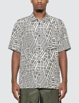Alexander Wang Silk Printed Logo Shirt
