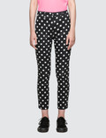 X-Girl Checked Printed Trousers Picutre
