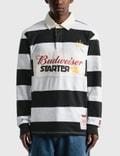 Starter Budweiser x Starter Varsity Stripe Rugby Shirt 사진