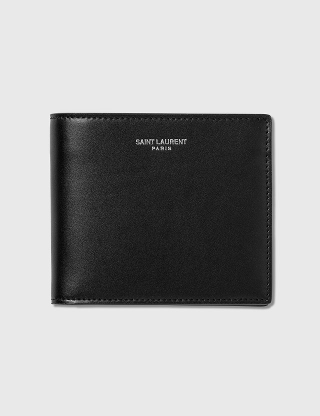 Saint Laurent East/West Wallet With Card Case Nero Men