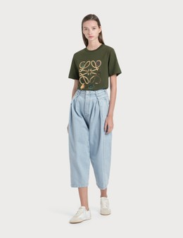 Loewe Cropped Oversize Jeans