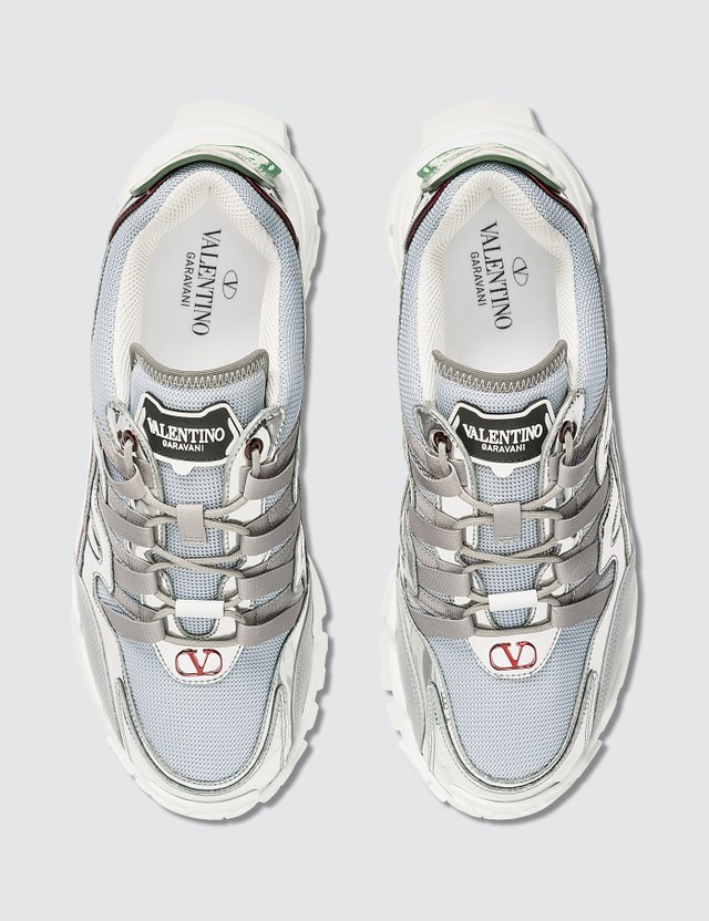 Valentino Valentino x Undercover Climbers Skull Logo Sneakers