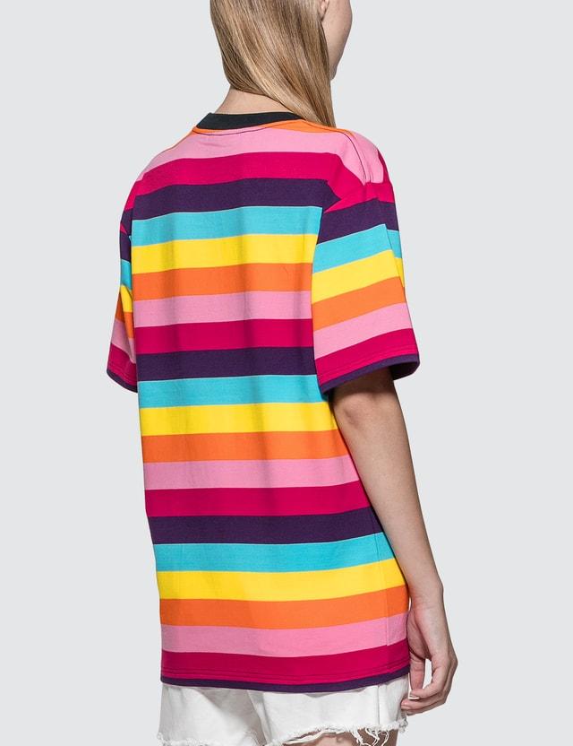 Pleasures Inbox Striped T-Shirt
