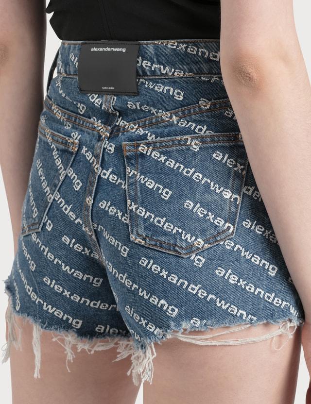 Alexander Wang.T Bite Logo Shorts
