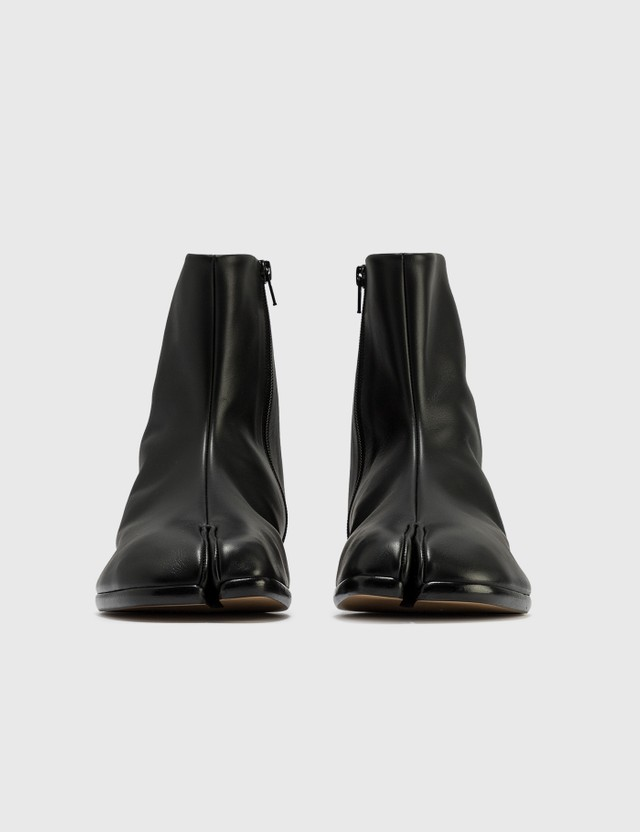 Maison Margiela Tabi Ankle Flat Boots Black Men
