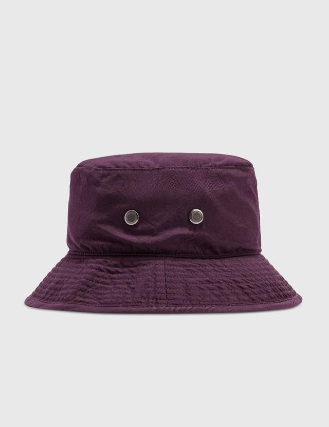 Acne Studios Brimmo Nylon Piquet Bucket Hat Purple Men