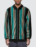 Stussy Roland Stripe Long Sleeve Full Zip Picutre