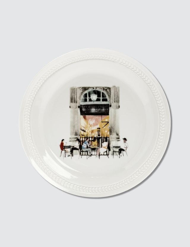Maison Kitsune Cafe Kitsune x Alix D. Reynis Porcelain Plate