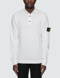 Stone Island L/S Polo Shirt Picture