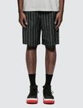 Alexander Wang Logo Wool Jacquard Shorts Picture
