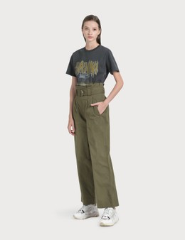 Ganni Ripstop Cotton Chino Pants