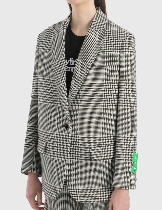 Off-White Houndstooth Tomboy Jacket