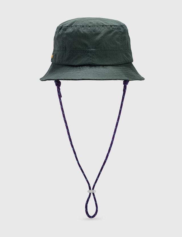 Thisisneverthat Cordura® Bucket Hat Blue Green Men