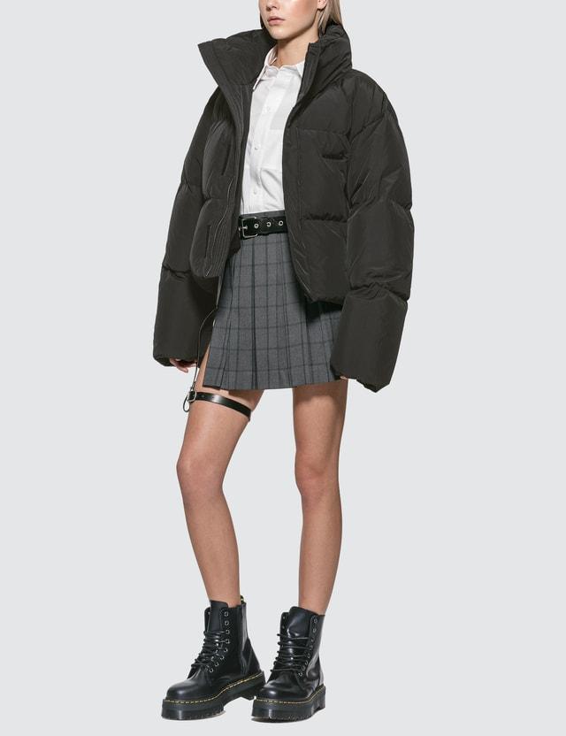 Hyein Seo Down Bomber Jacket