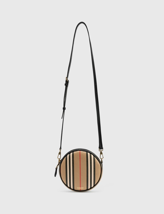 Burberry Icon Stripe E-canvas Louise Bag