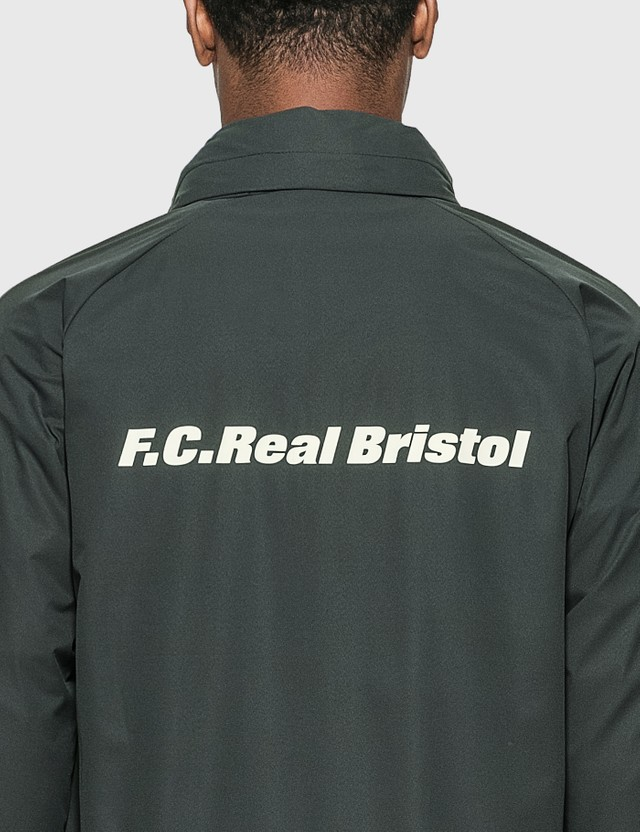 F.C. Real Bristol Stretch Light Weight Hooded Blouson Gray Men