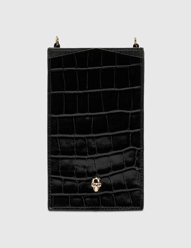 Alexander McQueen Skull Phone Case On Chain