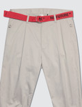 Magic Stick Cropped Fake Bontage Pants
