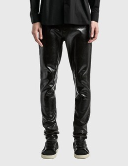 Saint Laurent Medium Waist Skinny Jeans