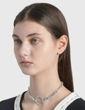 Justine Clenquet Lina Choker Silver Women