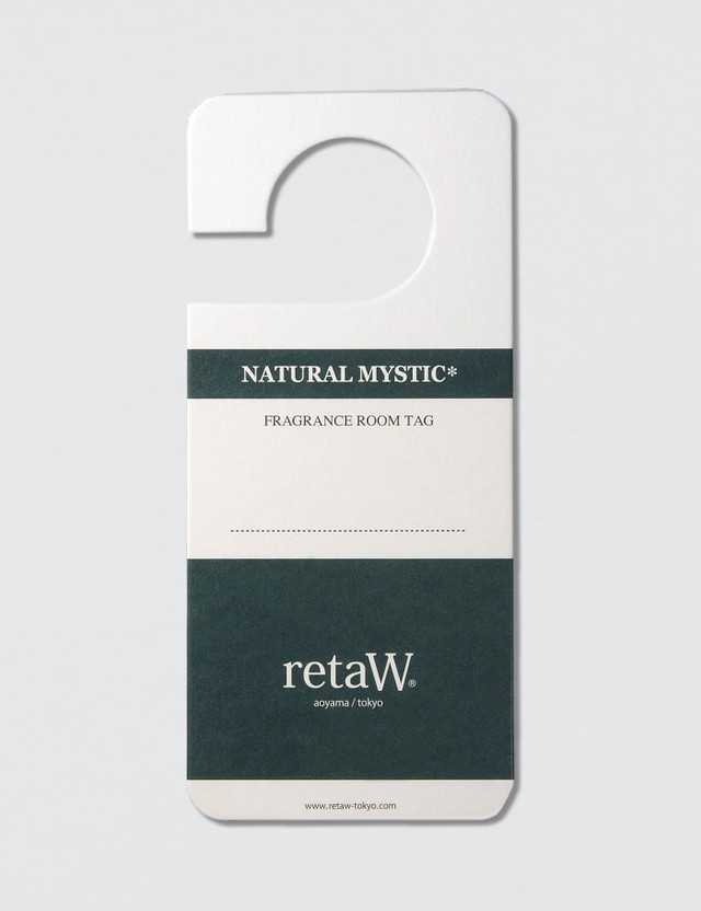 Retaw Natural Mystic Fragrance Room Tag