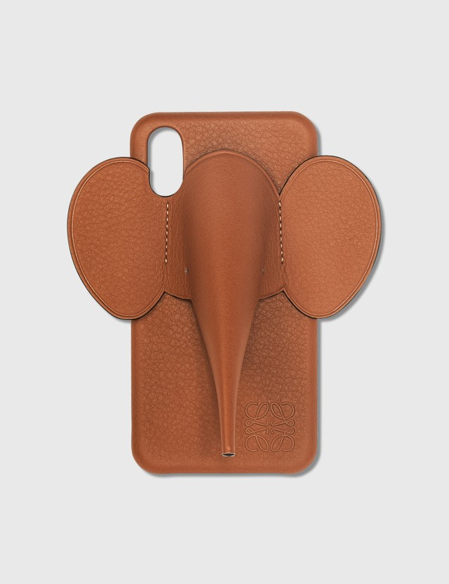 Loewe Elephant iPhone Cover X/Xs Tan Women