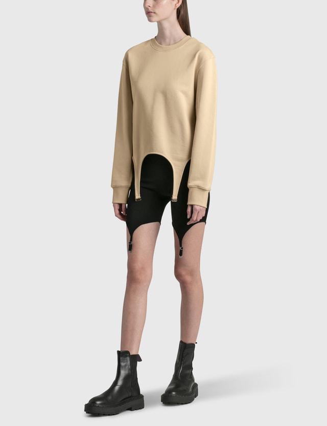 Dion Lee Garter Pullover Sand Women