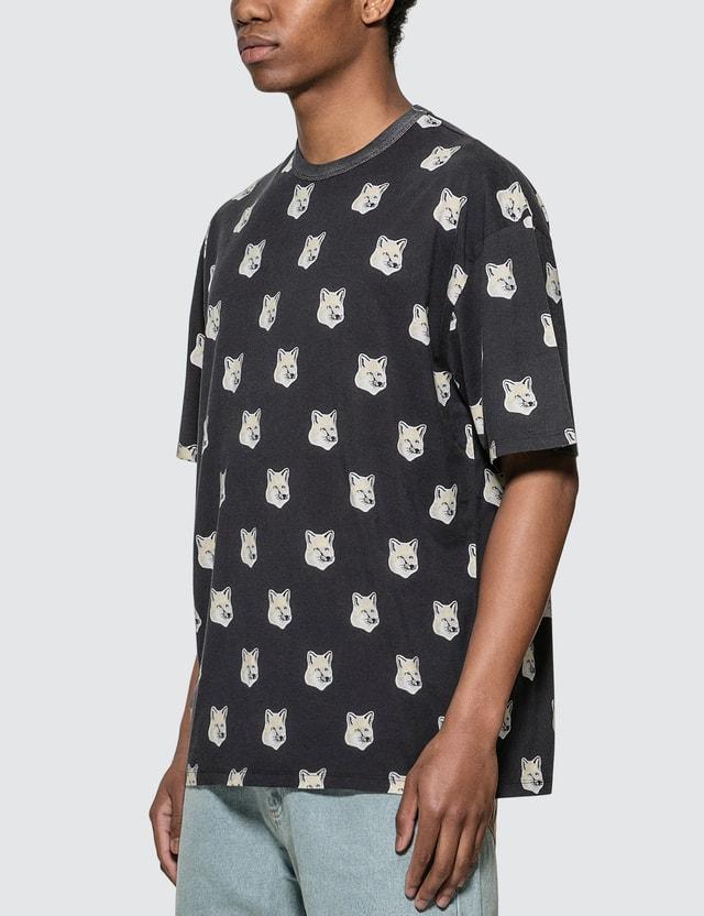 Maison Kitsune All-over Pastel Fox Head T-shirt