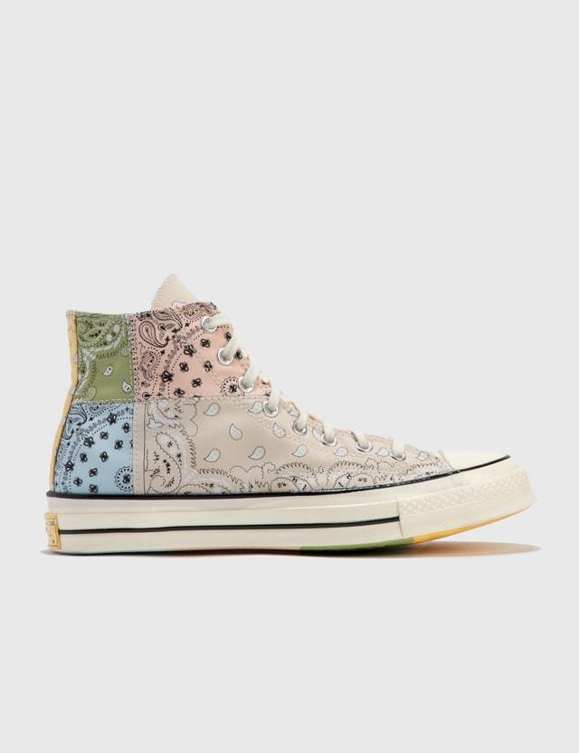 Converse Chuck 70 High Sneaker Natural Ivory/egret/multi Men