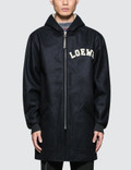 Loewe Zip Shearling Hooded Jacket Picture