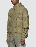 John Elliott Back Sateen Canopy Bomber Jacket