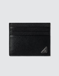 Prada Logo Credit Card Holder Picutre
