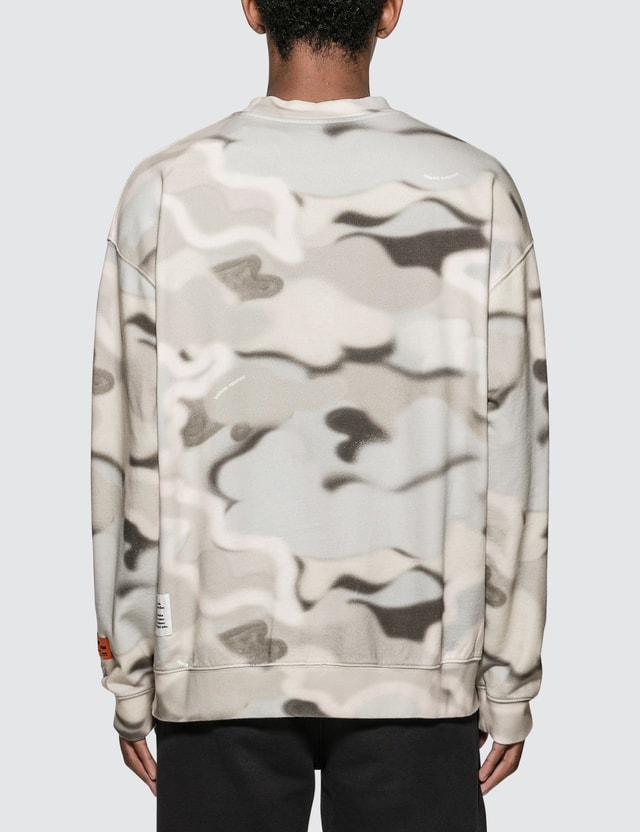 Heron Preston Camouflage Print Sweatshirt