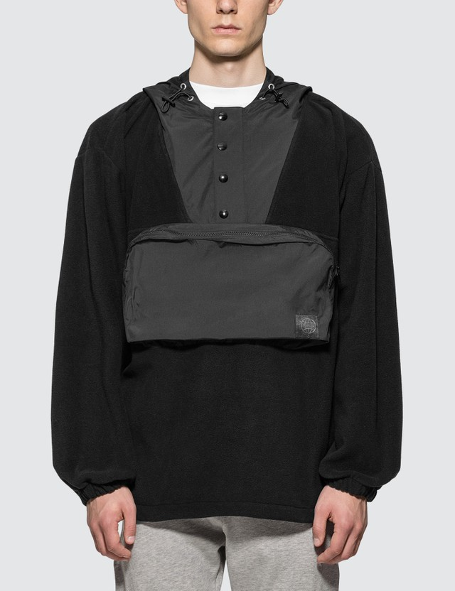 McQ Alexander McQueen Hooded Offspring Top