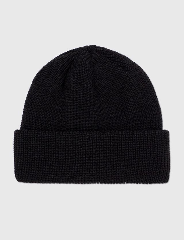 Hellrazor Trademark Cuff Knit Cap Black Men