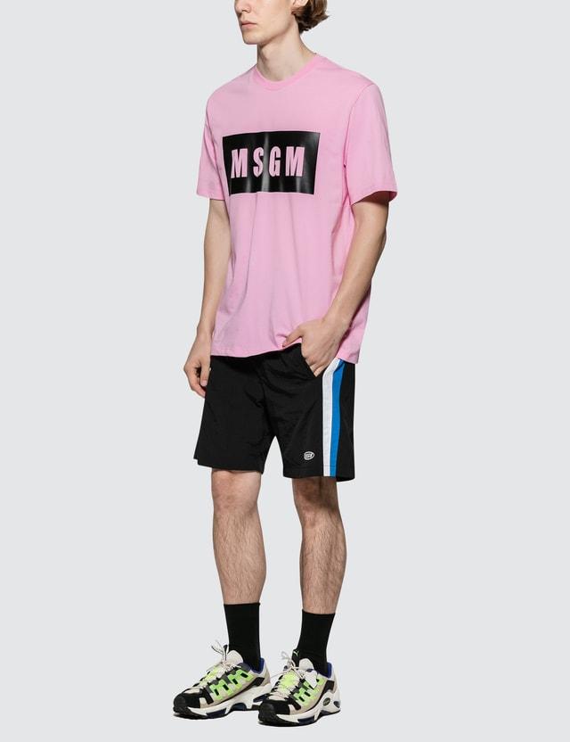 MSGM Box Logo S/S T-Shirt