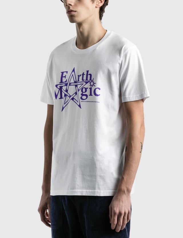 Good Morning Tapes Earth Magic T-Shirt White Men