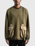 White Mountaineering Hunting Pocket Taped Sweatshirt Picture