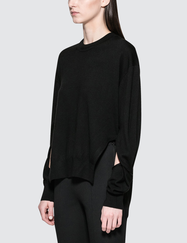 Alexander Wang.T Twisted Sleeve Sweater