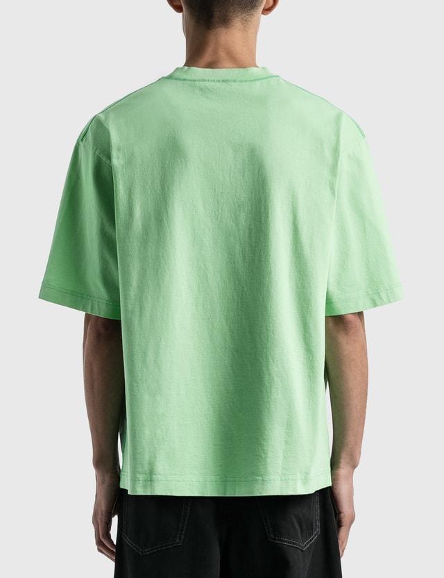 Acne Studios Extorr Stamp T-shirt Green Men