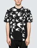 McQ Alexander McQueen Cut Up Coverlock S/S T-Shirt Picture