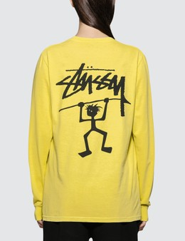 Stussy Warrior Man Pig. Dyed Long Sleeve T-shirt